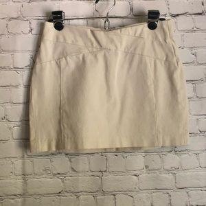 Banana Republic khaki  mini skirt size 2